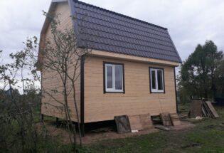 Каркасный дом 6х6 п.Панковка