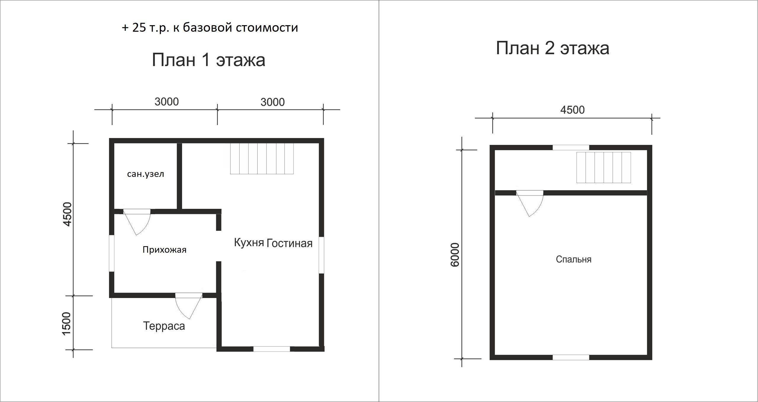 Проект дома D10