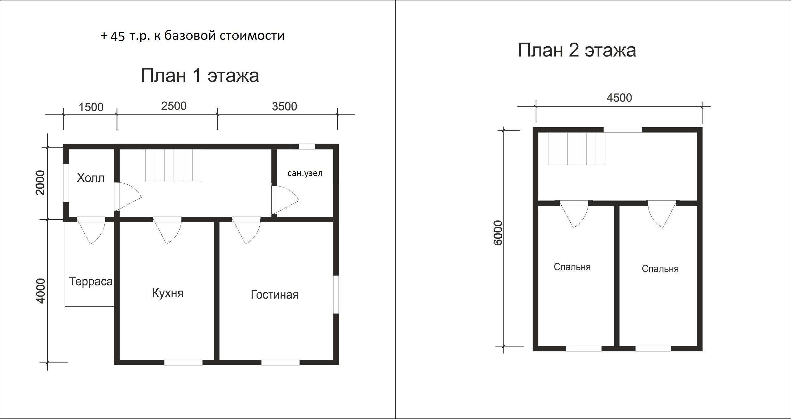 Проект дома D13