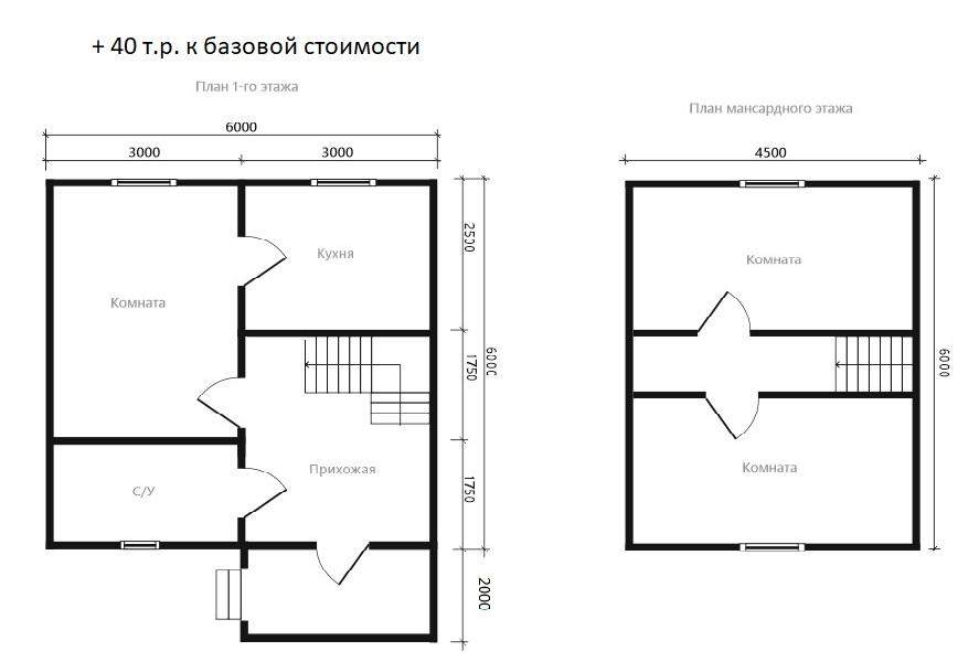 Проект дома D15