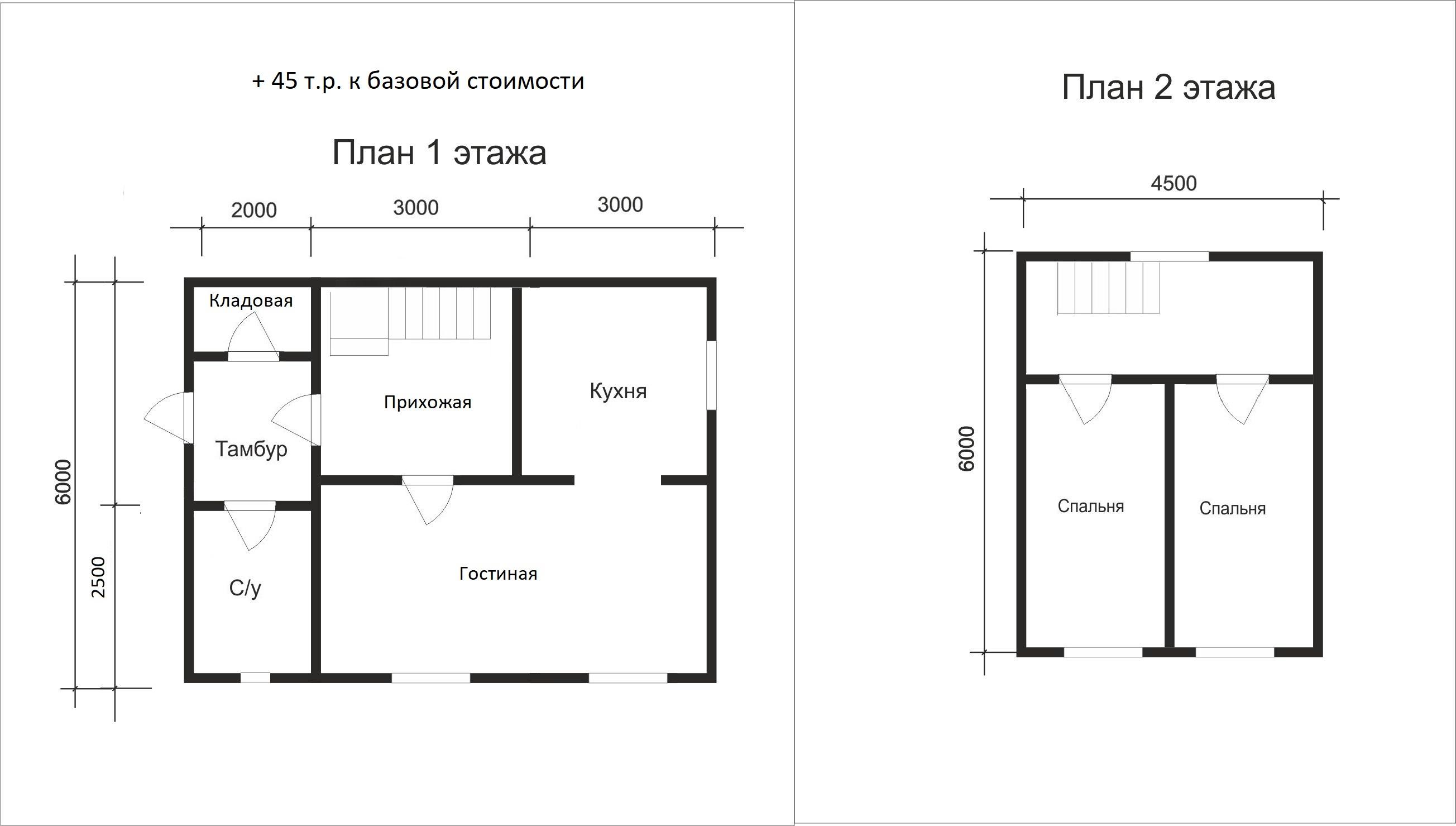Проект дома D19