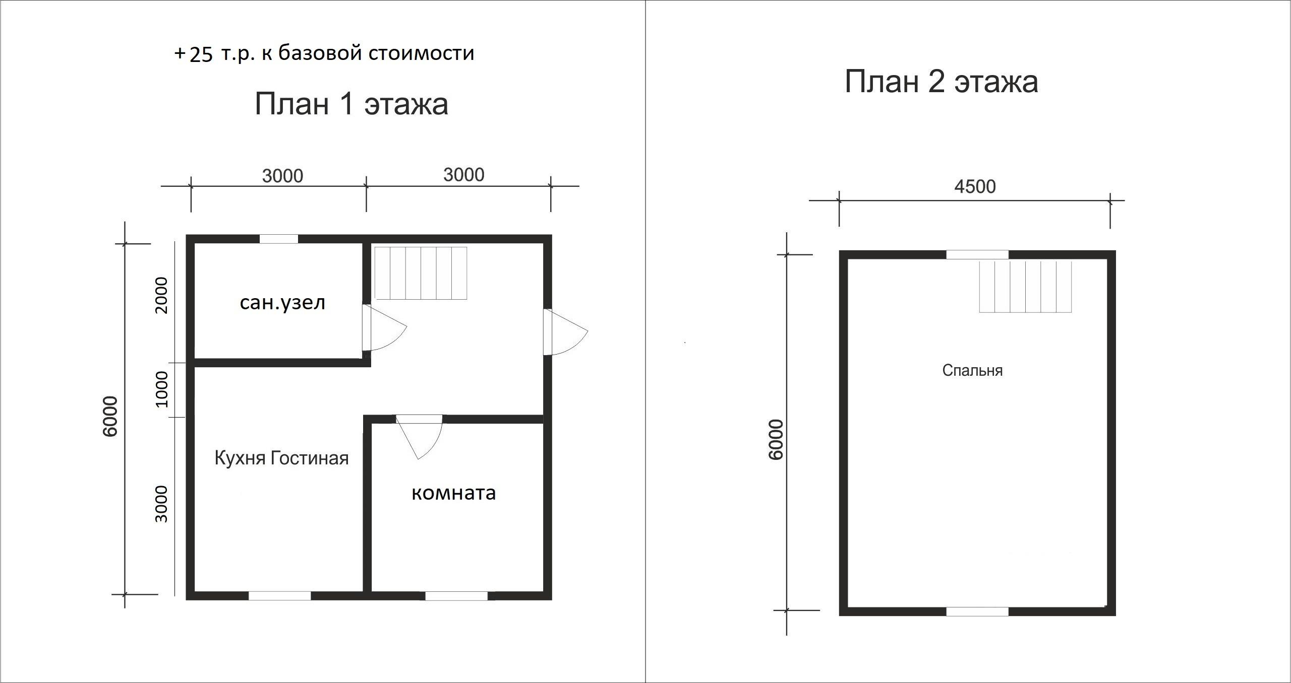 Проект дома D7