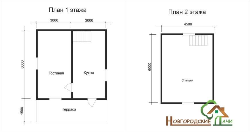 Проект дома D11