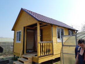 Каркасный дом 6х4 п.Панковка
