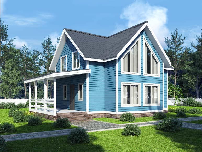 Проект дома «D52»
