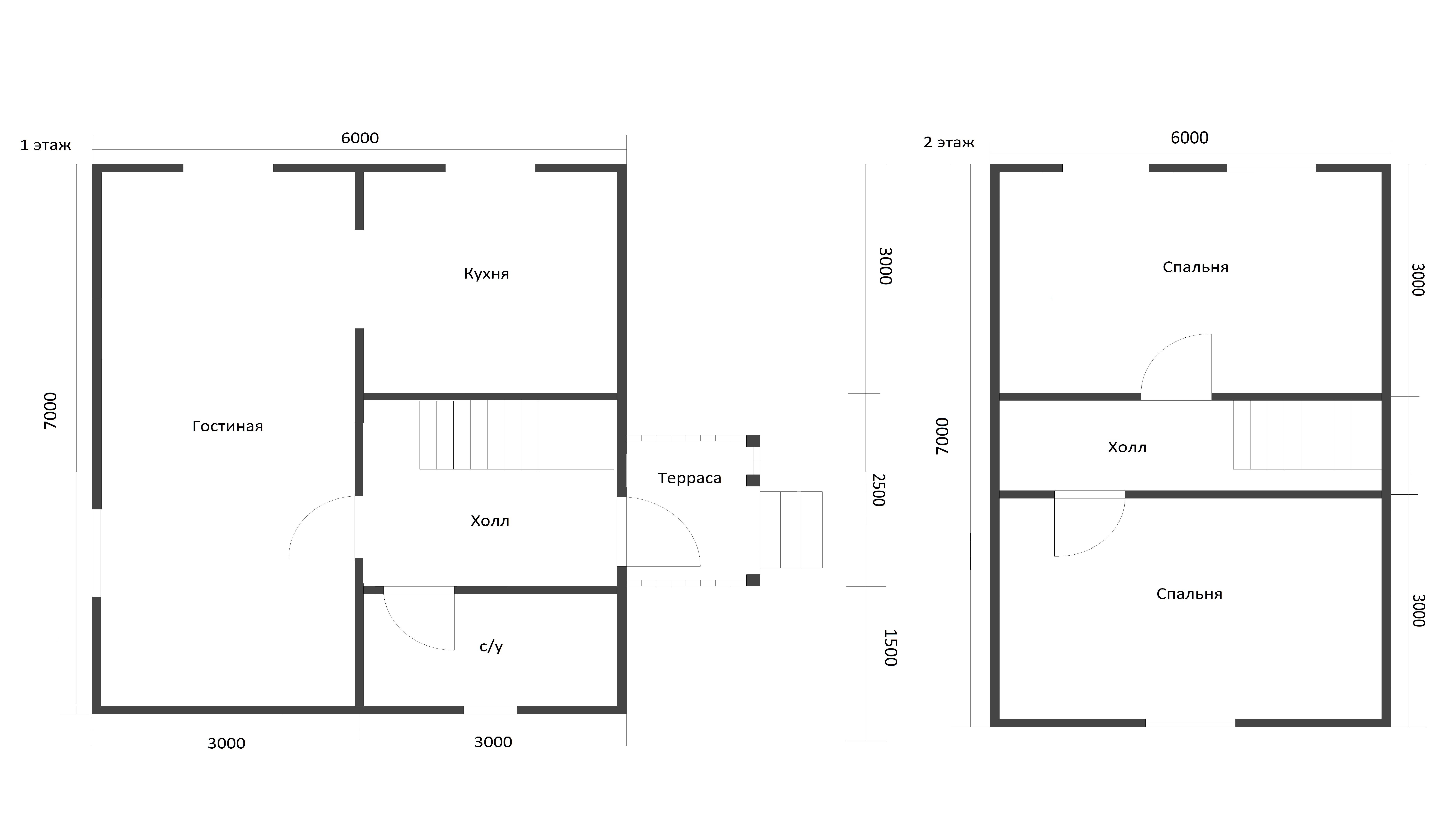 Проект дома D17