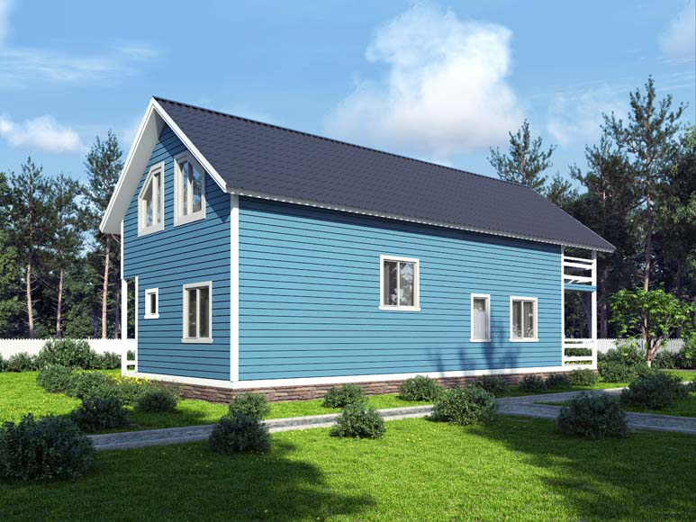 Проект дома «D53»