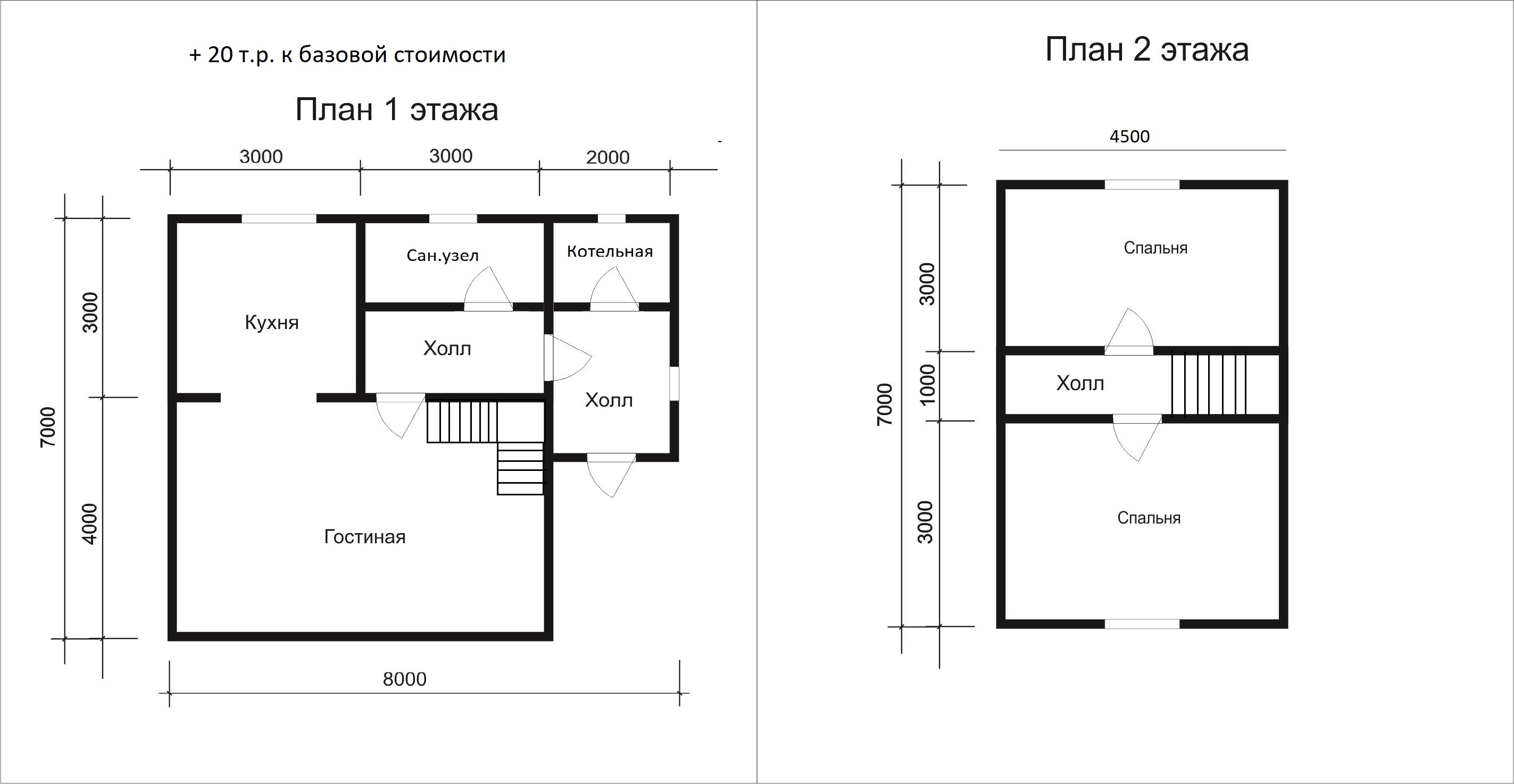 Проект дома D18
