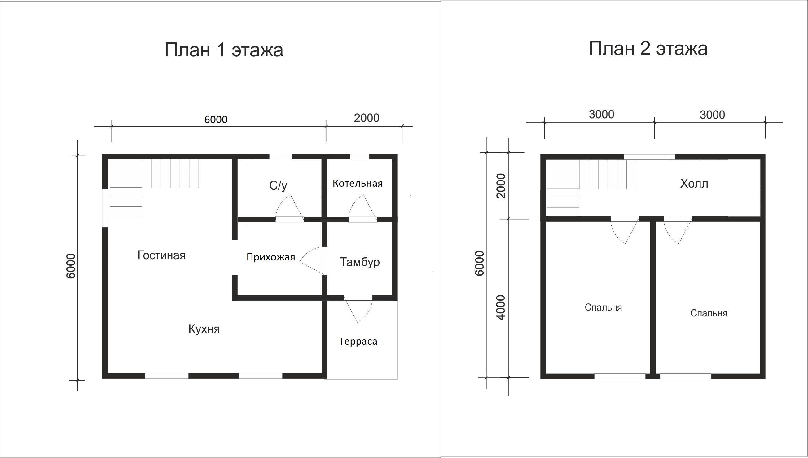 Проект дома D22