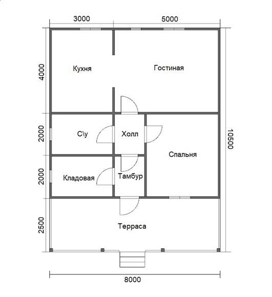 Проект дома «D47»