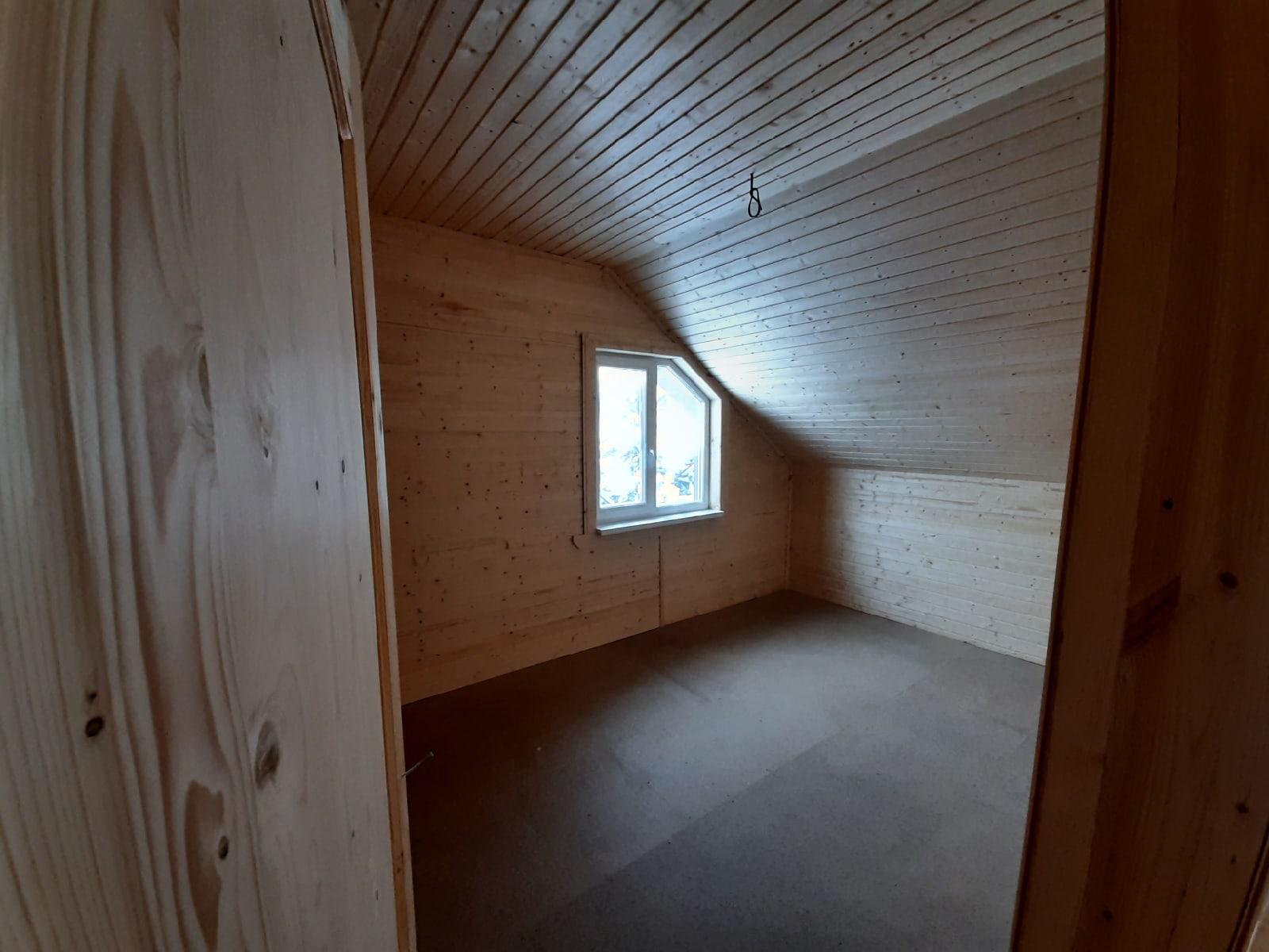 Каркасный дом 7х9м с террасой КП Скандинавский парк, Ленинградской области