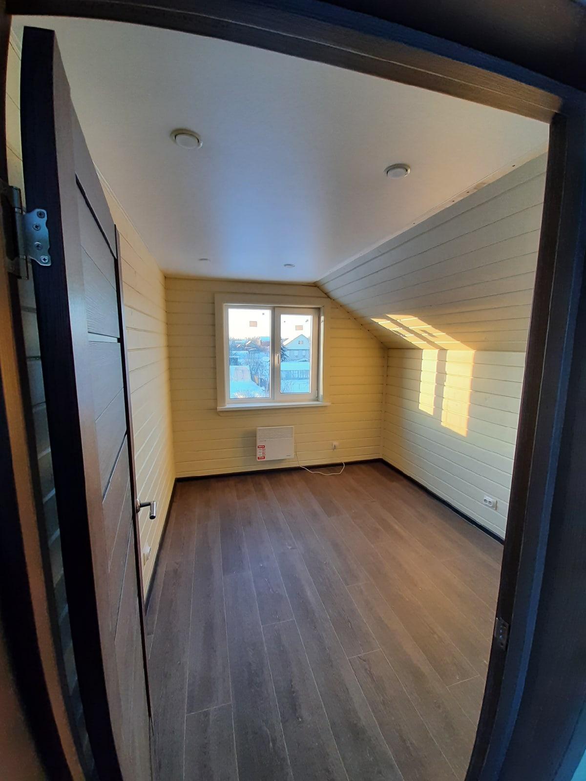 Каркасный дом 6х6м с террасой и всеми коммуникациями д.Новая Мельница