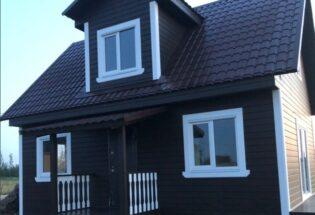 Каркасный дом в Лешино